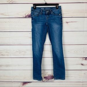 Mossimo mid rise straight leg jeans size 00